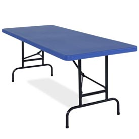 National Public Seating® - Adjustable Height Folding Tables