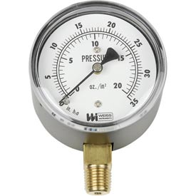 Weiss Low Pressure Diaphragm Gauges