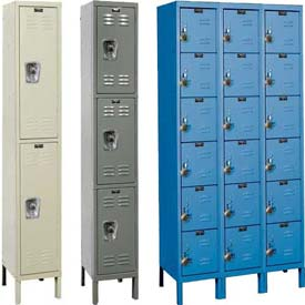 Hallowell® ReadyBuilt Steel Lockers