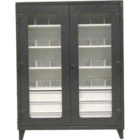Stronghold® See Thru Storage Cabinets