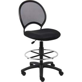 Boss Chair -  Mesh Drafting Stool