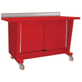 Shure® Custom® Series Portable Sliding Door Mobile Workbenches