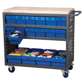 Akro-Mils® Louvered Shelf Carts
