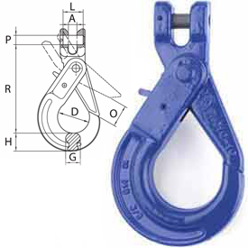 Peerless™ ACCO V10 Clevis Self-Locking Hooks - Grade 100