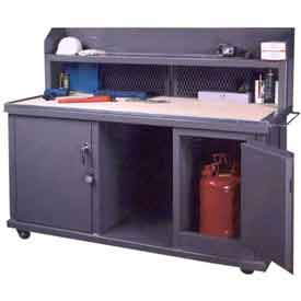 Securall® Mobile Work Benches And Shop Carts