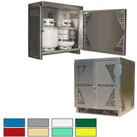 Liquid Propane/Oxygen Gas Cylinder Storage Cabinets - Painted Steel