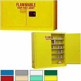 Securall® Stackable/Wall-Mounted Flammable Storage Cabinets