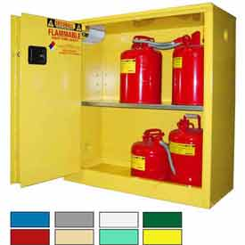 Securall® Flammable Storage Cabinets - Self Close, Sliding Door