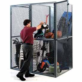 Husky Rack & Wire Tenant Storage Lockers