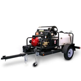 Trailer Mount Pressure Washers