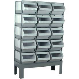 StackRack Bin System With Plastic Bins