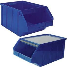 Plastic Stackbin With Front Bar