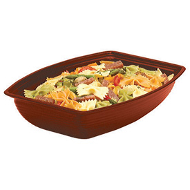 Cambro Rectangular Ribbed Bowls