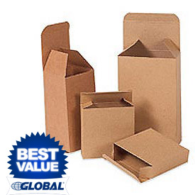 Kraft Reverse Tuck Folding Cartons