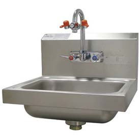 Advance Tabco Hand Sink With Eye Wash Faucet
