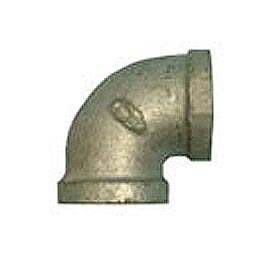 BMI Canada MGL9003 90 Elbow 150# Galvanized Malleable - 3/8''