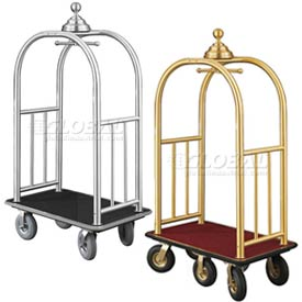 Glaro Signature Collection Ball Crown Bellman Luggage Carts