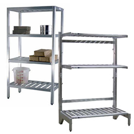 Aluminum Adjustable Shelving Components