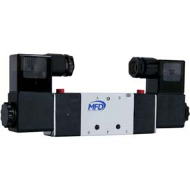 4-Way Solenoid Actuated Valves
