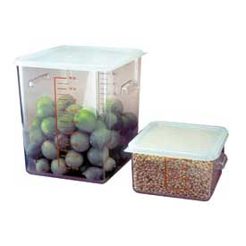 Rubbermaid® Square Containers & Lids