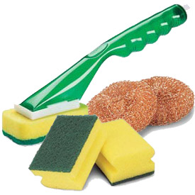Libman® Commercial Sponges, Scrubs & Soap Dispensers
