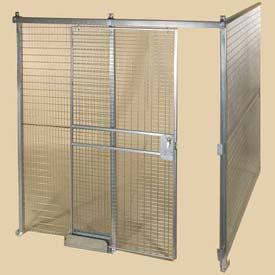 Qwik-Fence® 8-Gauge Welded Grid Mesh Partitions Room - Preconfigured