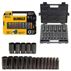 Hex Bit Impact Socket Sets