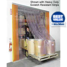 Energy Saving Strip Curtains & Strip Dock Doors