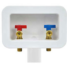 Plain Washing Machine Outlet Boxes