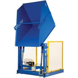 Vestil Electric Powered Hydraulic Lift Box & Container Dumpers