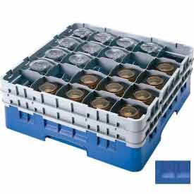 Twenty-Five Compartment Glass Racks