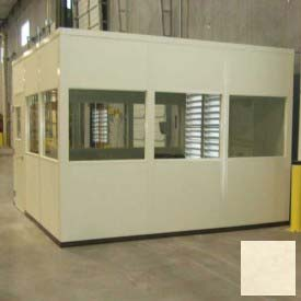 PortaFab Modular Inplant Offices - Steel Panel Class A Fire And Sound Rated (Aluminum Frame)