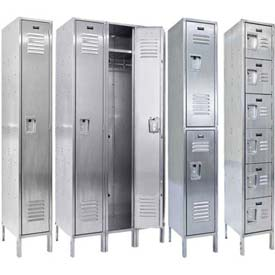 Hallowell 304 Stainless Steel Lockers