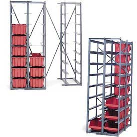 LewisBins™ Metal Hopper Racks