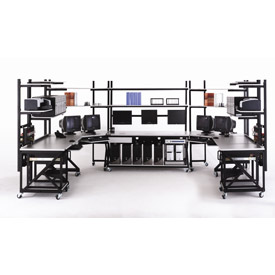 Kendall Howard™ Performance Series LAN Stations and Work Benches