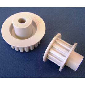 Plastock® Plastic Timing Belt Pulleys, 0.0816