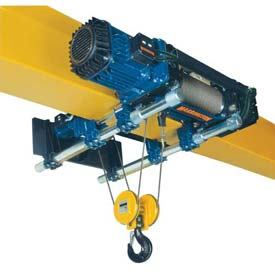 Harrington RH-Advantage Ultra-Low Headroom Wire Rope Trolley/Hoists
