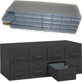 Equipto Metal Shelf Drawer Cabinets