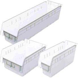 Akro-Mils® Clear Nestable Shelf Bins
