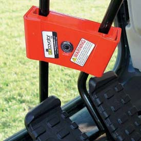 Excavator Locks For Track Drive Controls