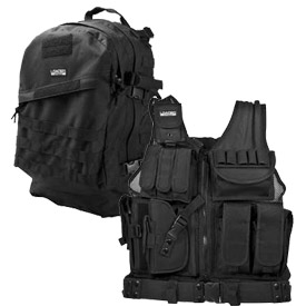 Tactical Vests, Backpacks and Gears