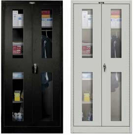 Hallowell Ventilated Door Combination Cabinets