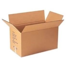 """Double Wall Corrugated Box, Heavy-Duty Eo Container 30"""" x 17"""" x 17"""" 350lb. - 5 Pack"""