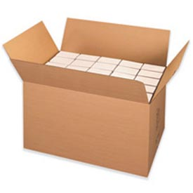 "Double Wall Corrugated Box Heavy-Duty EH Container 36"" x 22"" x 22"" 200lb - 5 Pack"