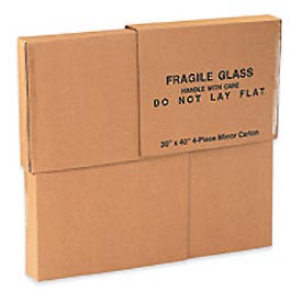 "4-Piece Mirror Carton 30"" x 40"" 200lb. Test/ECT-32 - 4 Pieces / Set"