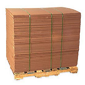 "Corrugated Sheet 48"" x 48"" 200lb. Test/ECT-32 - 5 Pack"