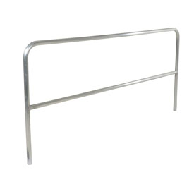 "72"" Long Aluminum Construction Pipe Safety Railing"