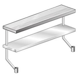 "Aero Manufacturing APS-872 72""W x 8""D Adjustable Plate Shelf for Equipment Stand"