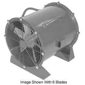 "Americraft 18"" TEFC Aluminum Propeller Fan With Low Stand 18DA-1/4L-3-TEFC 1/4 HP 3050 CFM"