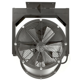 "Americraft 24"" EXP Alum Propeller Fan W/ 1 Way Swivel Yoke 24DA-11Y-3-EXP-1 HP 7400 CFM"
